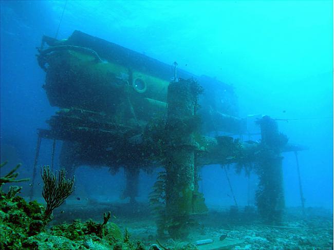 Zinātnieki jūras gultnē... Autors: MONTANNA Okeāns kļūs par mūsu mājām 3