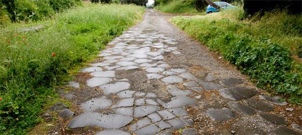 Vispirms romiescaroni... Autors: PatiesiAnonims Romiešu ceļi