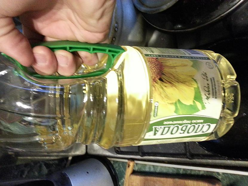 Mana izmantojama eļļa Autors: SGTC RECEPTE: Ka pagatavot garshigi olu