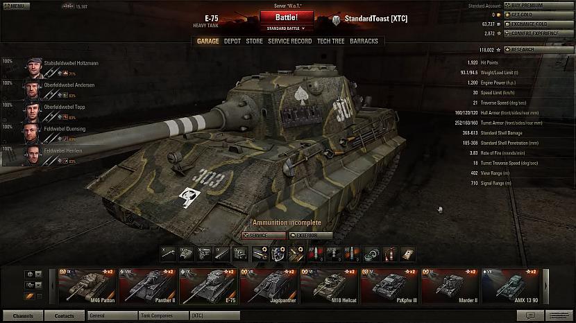 es pats jau so speli speleju... Autors: andzaskele world of tanks.