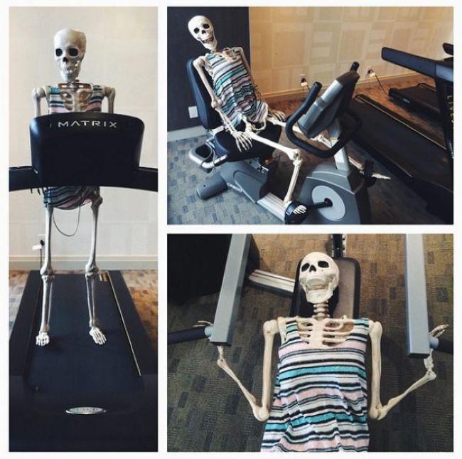 Autors: matilde Instagram: Skelets kā sieviete. (Parodija)