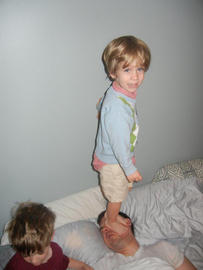 Autors: kaķūns Nav viegli būt tētim