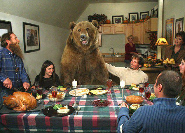 Lācis jau ilgi dzīvo scaronai... Autors: kaķūns Nē, tas NAV fotošops!