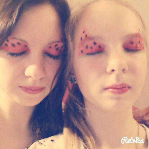 """Iznākums Autors: MazAa888 Neparasts vasarīgs make-up """"watermelon"""""""