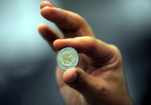 Latvijas eiro monēta ar tautā... Autors: epitets Mūsu Mildas stāsts