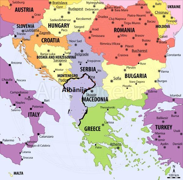 Albānijas agresija Balkānos... Autors: WhatDoesTheFoxSay Ja Aļaska nebūtu pārdota...