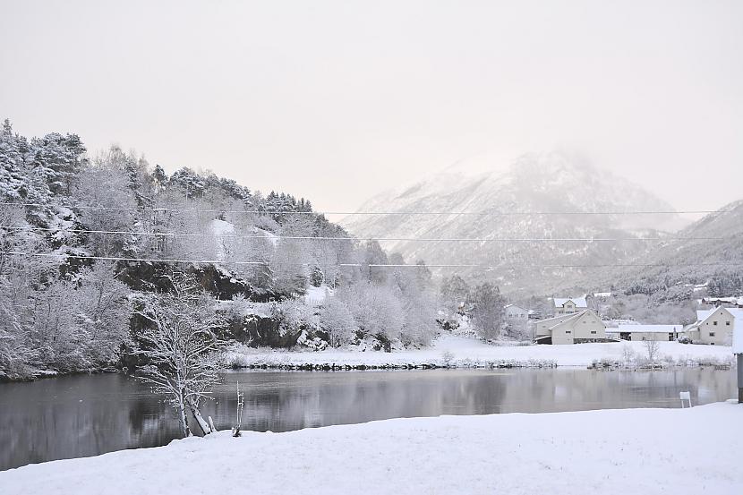 Storelva jeb Gloppenelva... Autors: Fosilija Vai nu šādu ziemu, vai nekādu