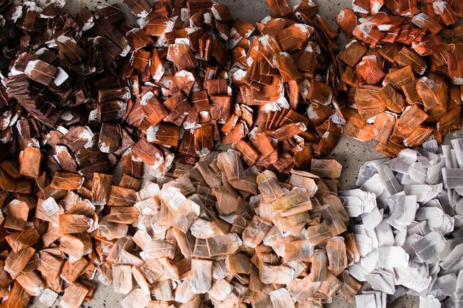 Mākslinieces Red Hong Yi... Autors: kaķūns Tējmaisiņi rāmī jeb 50 shades of brown