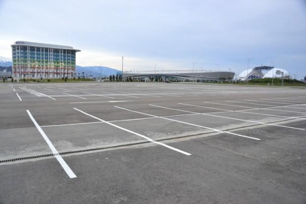 Autors: Fosilija Soču olimpiskā stadiona stāvvietas. Kā tās izskatās tagad?