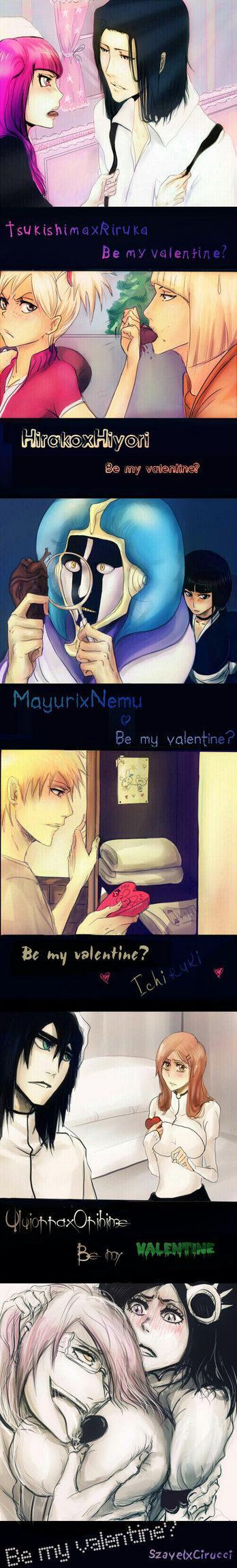 Autors: Hueco Mundo Bleach - Valentine Edition.