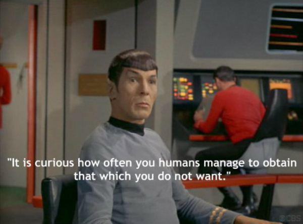 Tas ir kuriozi cik bieži jums... Autors: chakijs16 10 Spoka (Spock) citāti.