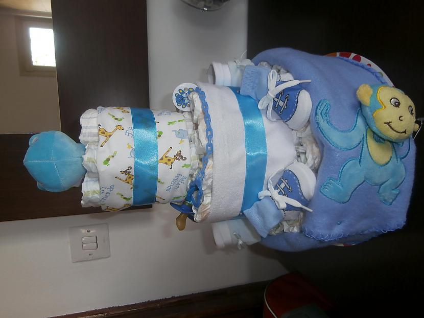 Autors: kardia Nappy cake for boy
