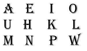 Havajiešu alfabētā ir 12 burtu... Autors: ReMarta Vai zināji, ka ...?