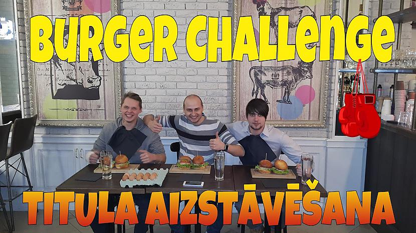 Autors: uldonstv Burger challenge, jeb olas pa galvu! @burgerstory