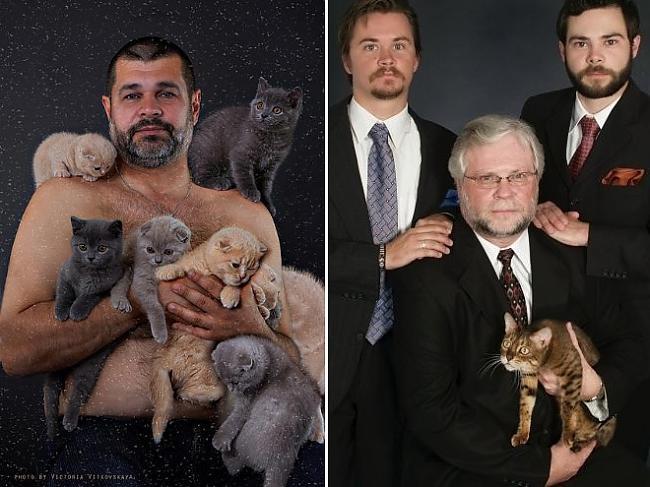 Autors: matilde Traģikomiskas vīriešu un kaķu kopbildes!
