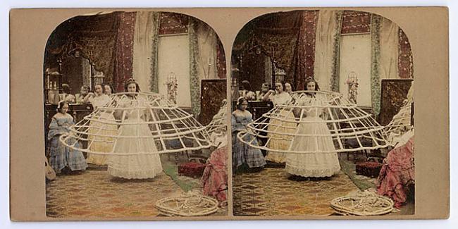 Scaronis senais objekts kļuva... Autors: ieva5 Krinolīni - Viktorijas laikmeta ekstremālā mode