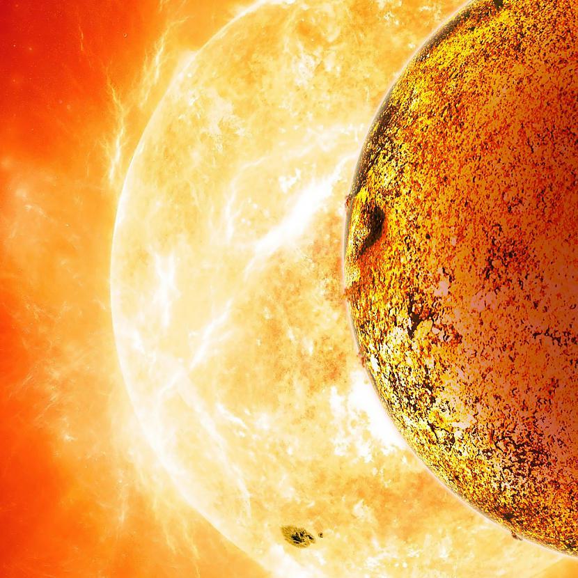 planēta Kepler 78b riņķo ap... Autors: freemen24 Gandrīz kā Zeme, bet nav Zeme