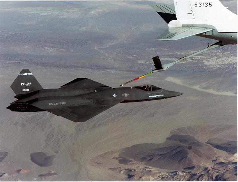 nbsp nbspTātad ar ko tad bija... Autors: Mao Meow YF-23 – Neredzamā lidmašīna!