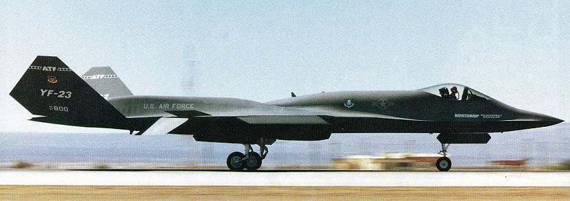 nbsp nbspTāpat scaronai... Autors: Mao Meow YF-23 – Neredzamā lidmašīna!