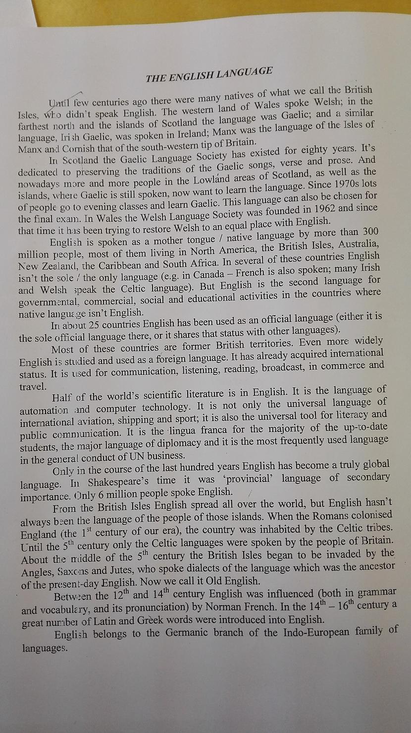 Angļu valodas teksts Autors: XenonCatxd Mana dienasgrāmata- 15.septembris
