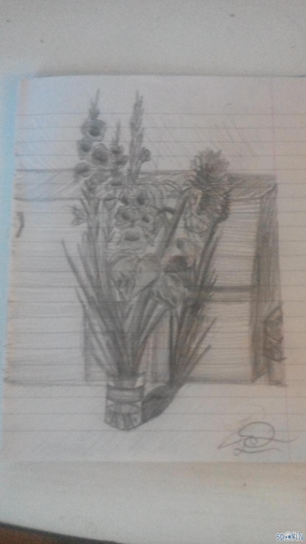 Scaronis tika zīmēts otrajā... Autors: rakstiins Ko es daru stundās