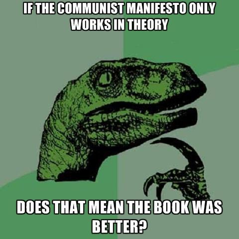 1 Kārlis Markss kļūdijāsMarksa... Autors: Zirnrēklis Kāpēc komunisms sū*ā? #2