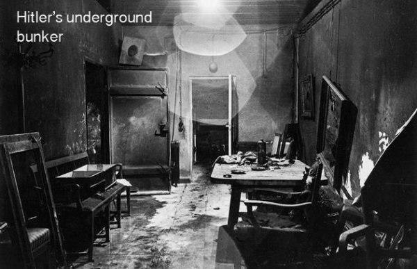 Hitlera pazemes bunkurs Autors: twist 18 vēsturiskas bildes, par kurām pasaule gandrīz ir aizmirsusi.