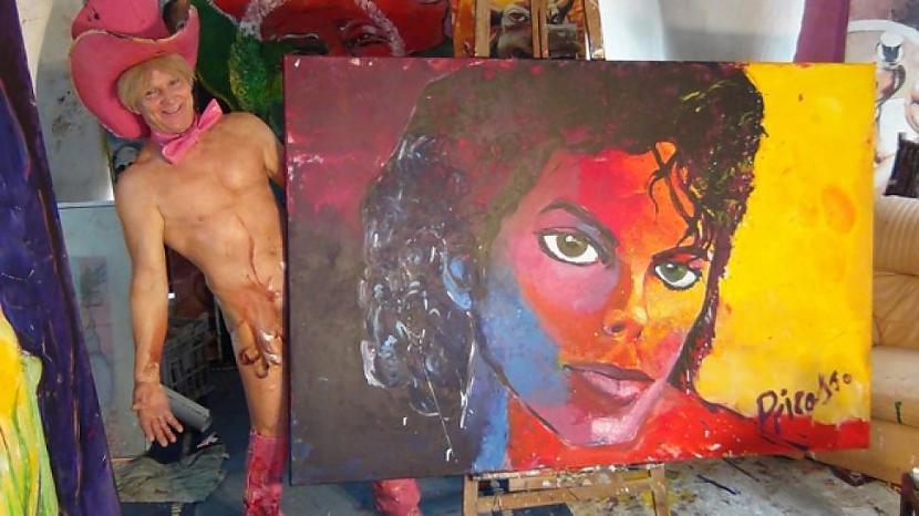 Ja būtu iespēja tad tu... Autors: kaķūns Čalis ar savu locekli glezno apbrīnojamus portretus !