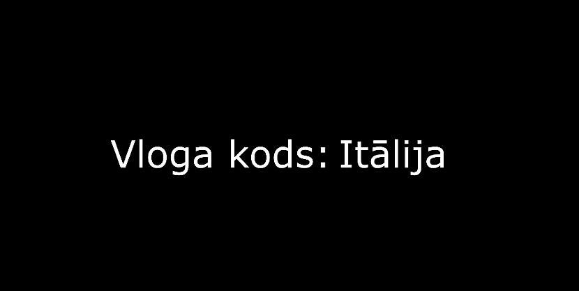 Autors: core222 Vloga kods: Itālija