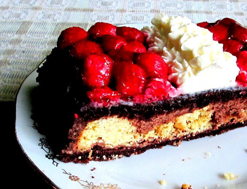 Scaronādi gatavota kūka... Autors: rasiks Mans labākais krēms kūkām
