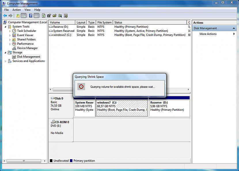 Uzgaidi nedaudz un ļauj... Autors: Fosilija Kā izveidot partīciju (Windows)