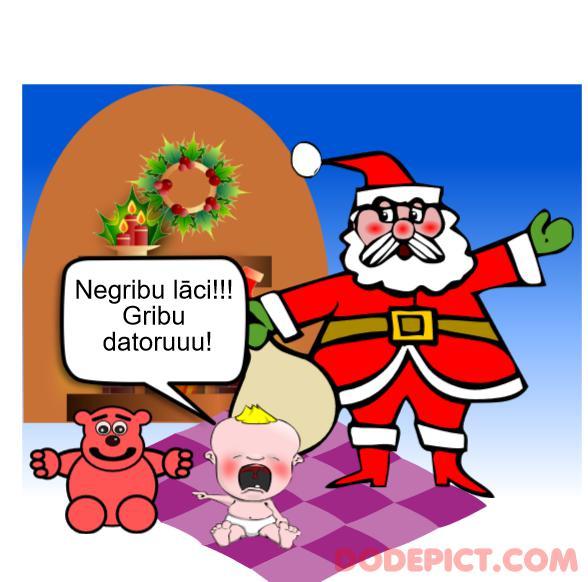 Ziemassvētku ekartiņa 1 Autors: Meža Ķiploks Uztaisi Pats Ziemassvētku e-Kartiņas