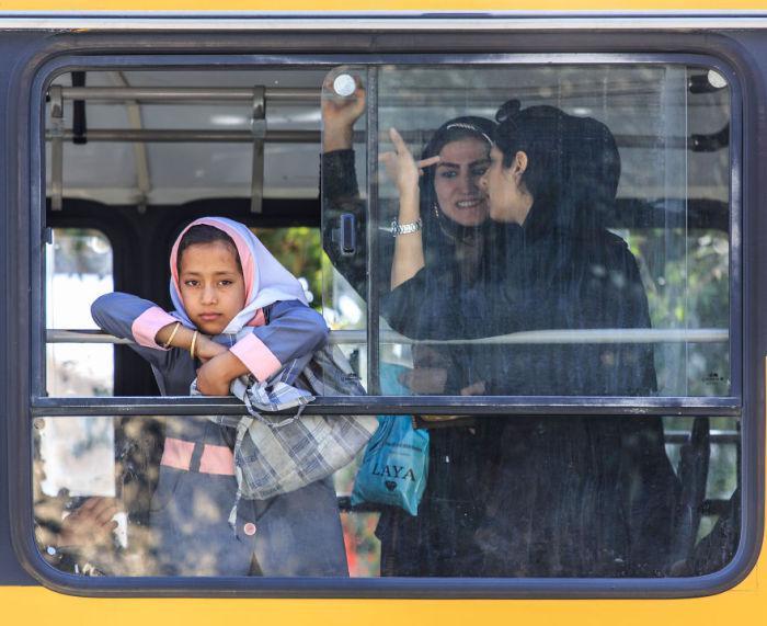 Scaroniraza skats autobusa... Autors: Lords Lanselots Kāda tad patiesībā ir Irāna? Lauz savus stereotipus!!