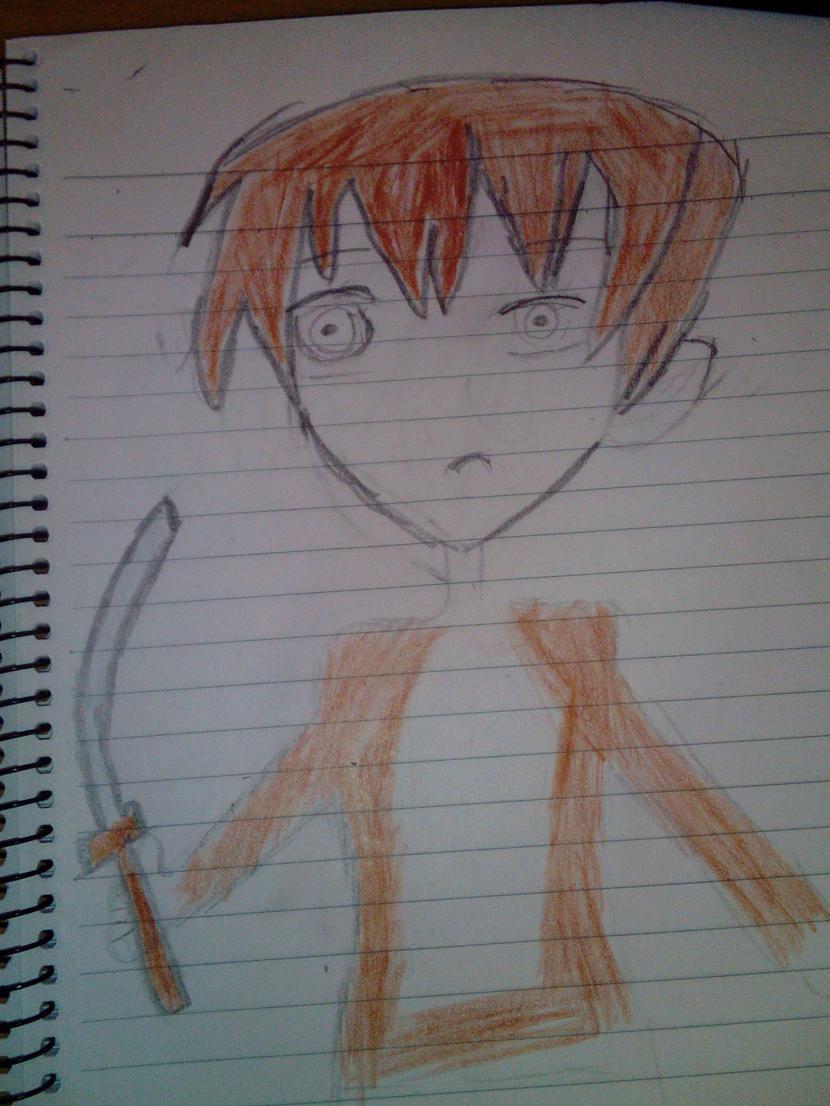 Autors: Tetsu Fooken Anime sketchs