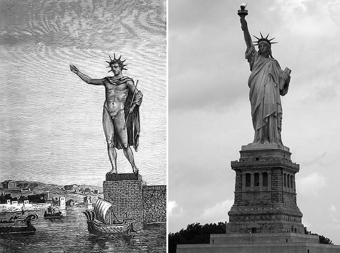 Brīvības statujaAmerikāņu... Autors: kaķūns 7 lietas par kuru vēsturi mums nav zināms viss