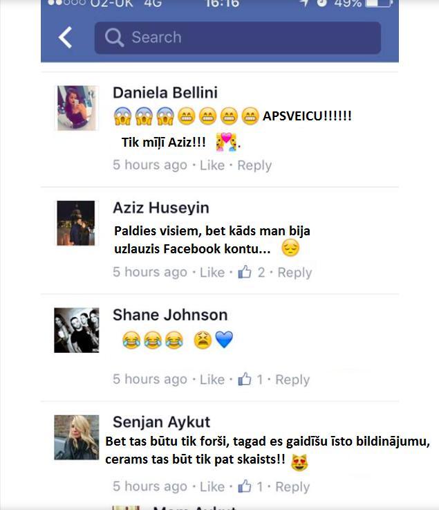 Autors: Tavs kolēģis Viņam uzlauza Facebook profilu, kā citi uz to reaģēja - pārsteidzoši!