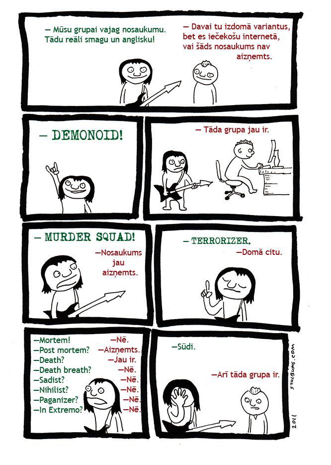 Autors: Fosilija Random Komiksi #2