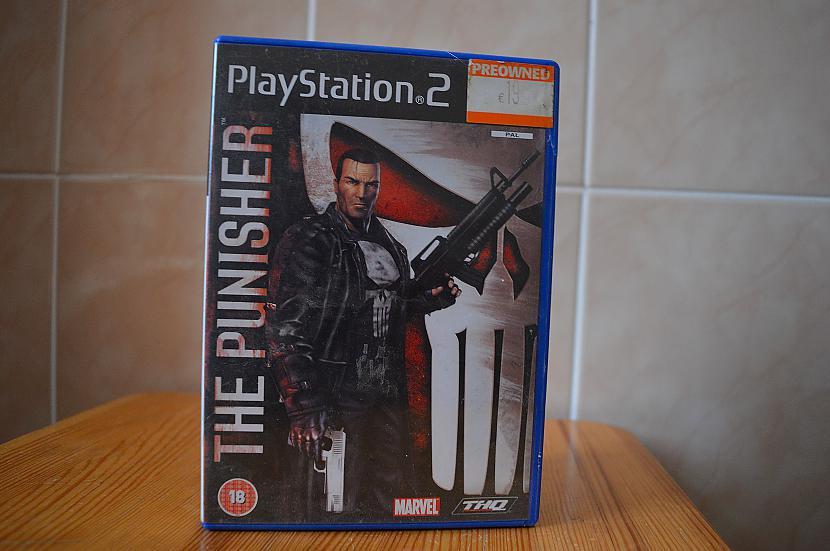 The Punisher Autors: Hank Moody Mana spēļu kolekcija! PS2