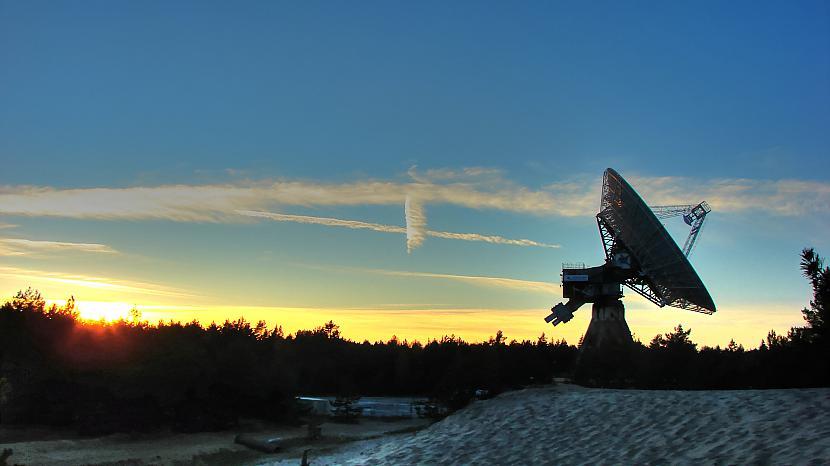 Irbenes radioteleskops 2 Autors: M4R3X Pazudušās un atrastās