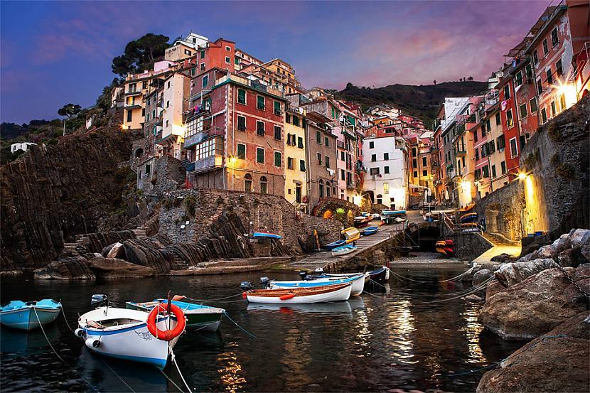 Riomaggiore ir ciems un... Autors: Liver Skaistāko pasaules ciemu fotogrāfijas