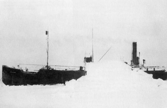 24 oktobrī sniega vētra... Autors: Kapteinis Cerība Spoku kuģis SS Baychimo