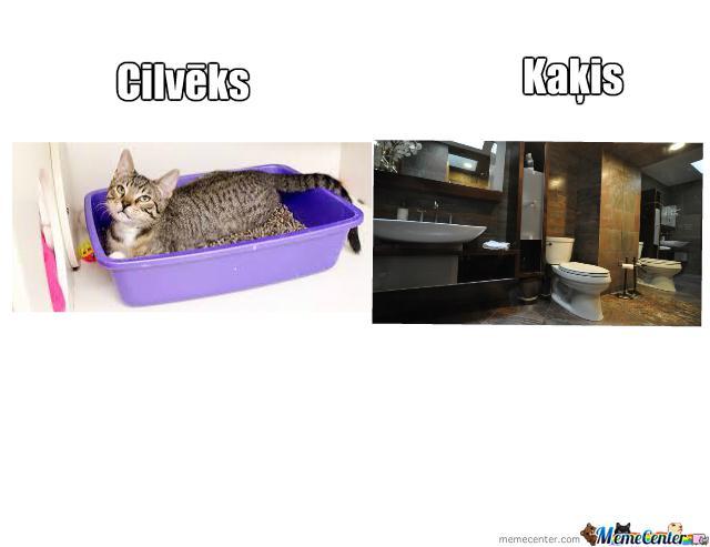 Autors: Fosilija Kaķis vs cilvēks!