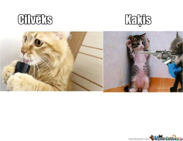 Piedodiet ka tik maz vnk baigi... Autors: Fosilija Kaķis vs cilvēks!
