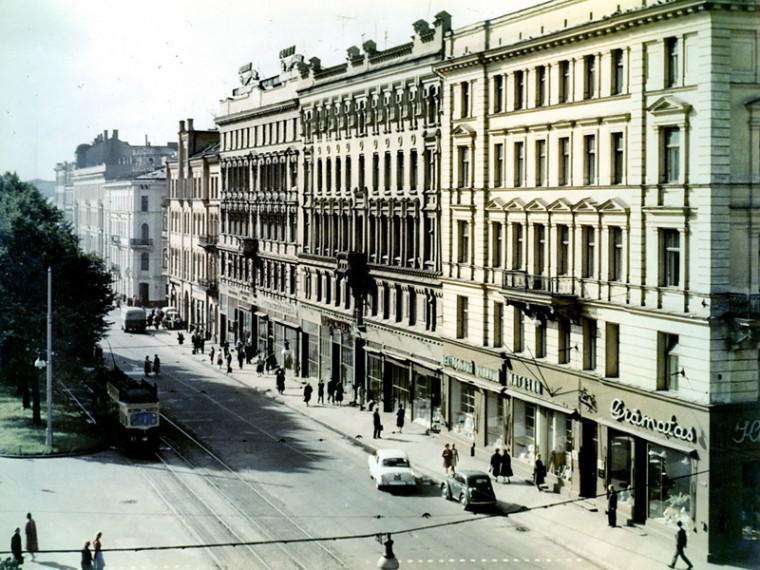 Aspazijas bulvāris aptuveni... Autors: NavLV Rīga pirms 50 gadiem 1. daļa