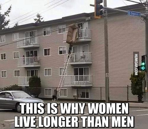 Autors: Fosilija 12 FOTO, kas pierāda to, ka sievietes dzīvo ilgāk nekā vīrieši #2