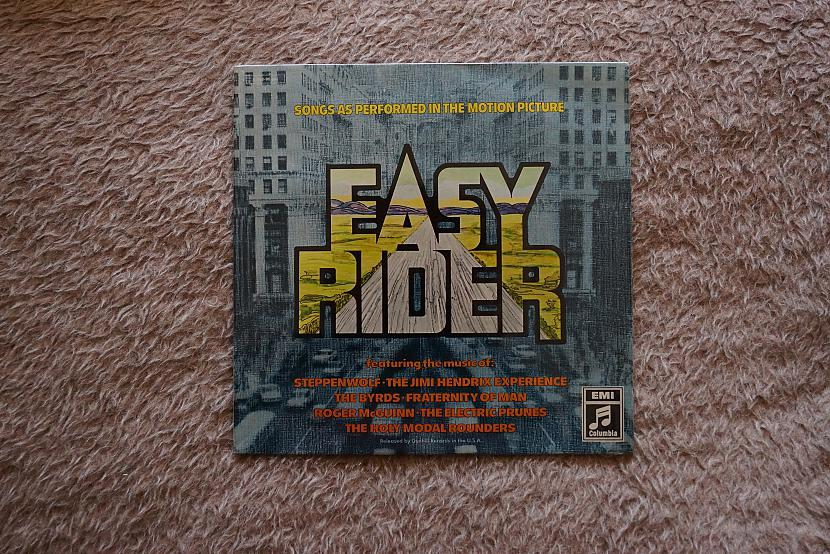 Easy Rider soundtrack Autors: VOVASFILMAS Vinils - 2. daļa, tomēr
