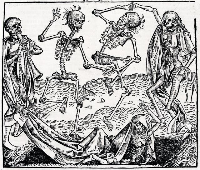 14 un 15 gadsimtā bija daudz... Autors: Fosilija Nāves personifikācija.