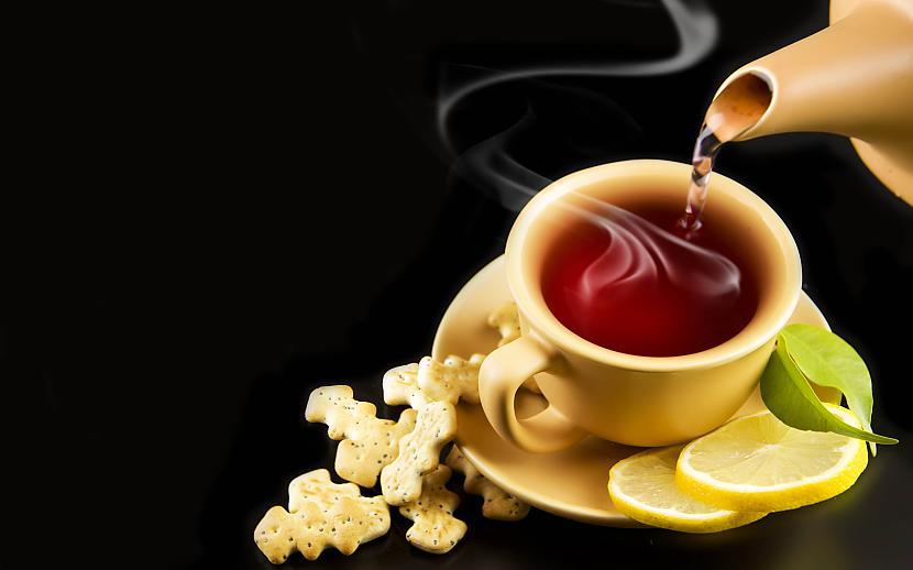 Tēju ar citronunbspvislabāk... Autors: weSTqoodbeep 10 interesanti fakti par aromātiem.