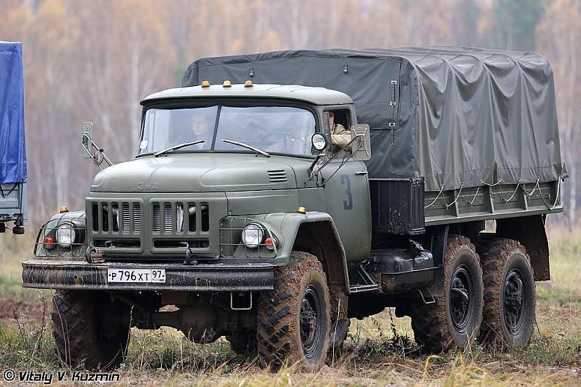 Vēsture un cita... Autors: xDrive_Unlimited Kravas automašīna ZIL-131