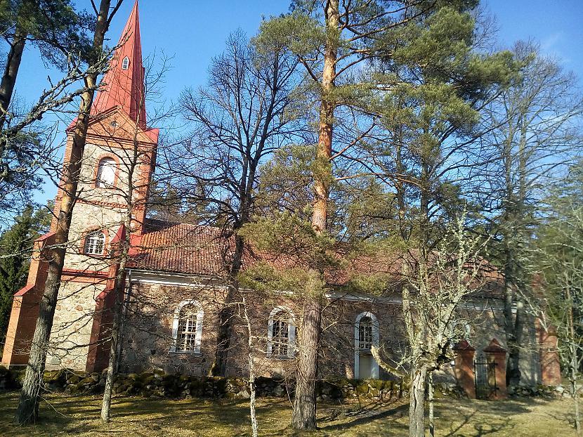 Rindas baznīca Autors: Olympic Trips Ventspils - Rinda - Ventspils